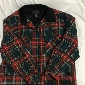 JL Colebrook wool plaid jacket